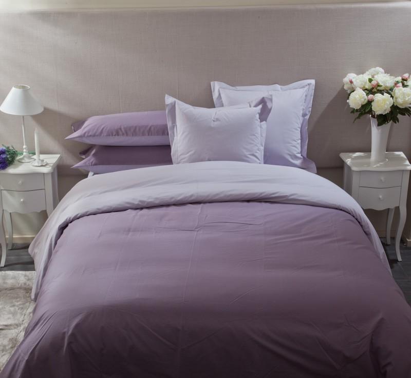 Funda n rdica best bicolor lila textura interiors guatemala - Fundas nordicas textura ...